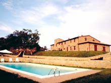 Umbria - holiday rental apartments close to Perugia. Forte Sorgnano vacation residence.