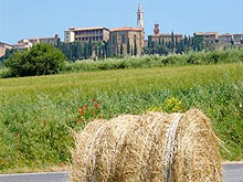 Holiday accommodation in the centre of historic Pienza