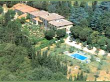 Country apartments in a classical Italian villa in Chianti, Tuscany