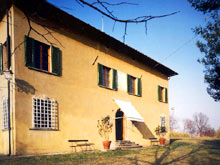 Tuscan villa rental west of Florence, Italy