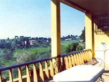 Country apartment rentals outside of Florence, Tuscany, Italy