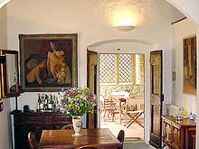 Italian country cottage holiday rental, Tuscany, close to Florence
