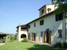 Villa rentals in Tuscany, Italy. Villa Antonella, countryside lodging accommodation to the south of Florence.